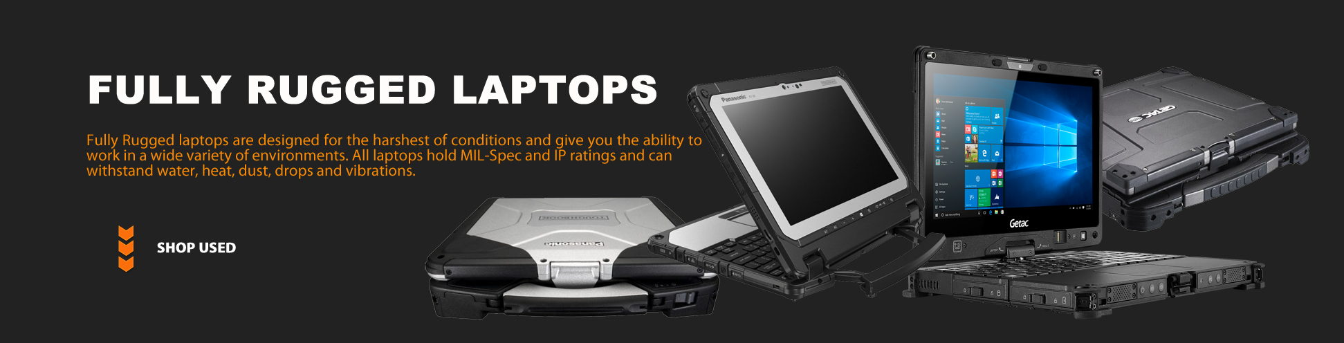 Fully Rugged Laptops - Used | Go-Rugged