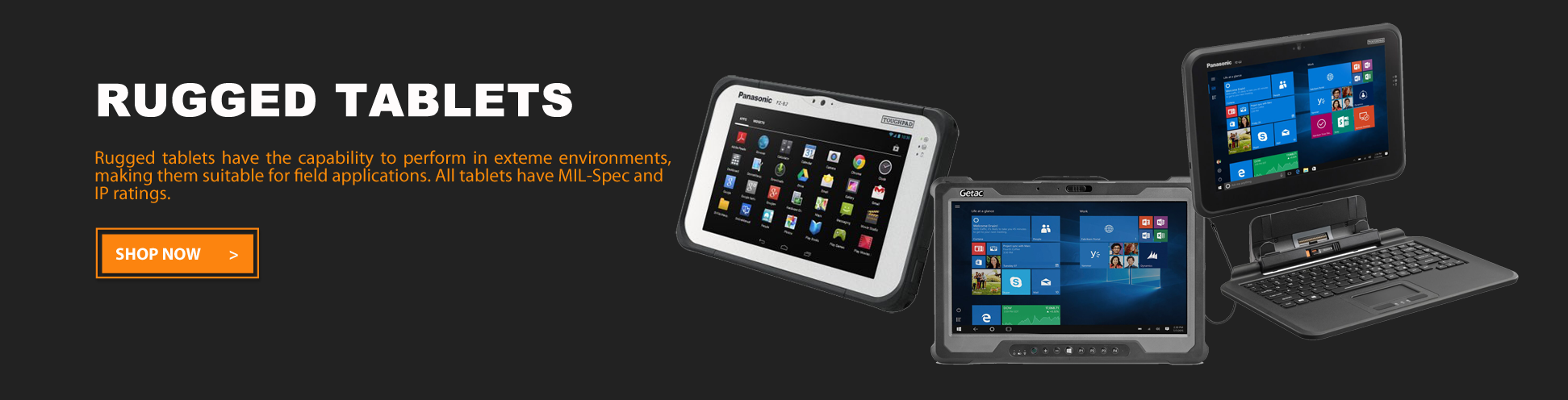 Rugged Tablets | Go-Rugged
